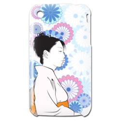 iPhone3GS 和風イラストカバー